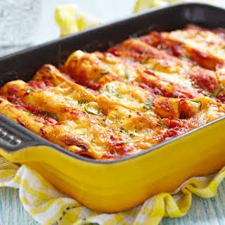 Minced Pork Cannelloni.