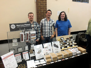 Photo: 007 Focus on the Traders 1: Narrow Planet brought their hugely successful and rapidly expanding range along for the day. LtoR Proprietor Steve Fulljames, Tom Dauben, Jon Reeves .