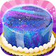Galaxy Mirror Glaze Cake - Sweet Desserts Maker (game)