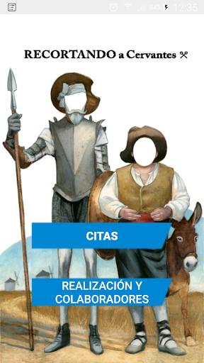 Recortando a Cervantes