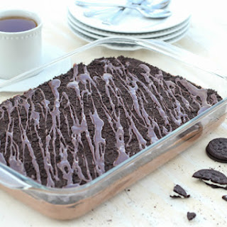 Chocolate Oreo Pudding Delight