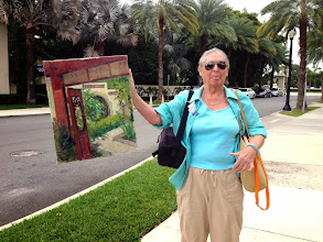 Photo: Beautiful painting in the Gardens by Quince / 12-12-13