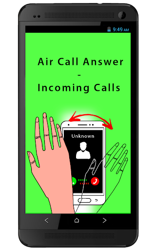Air Call Answer-Incoming Calls