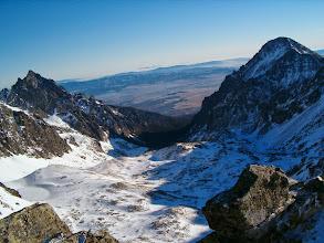 Photo: Velká Studená dolina ze Svišťového štítu, vpravo Slavkovský štít (2452 m)