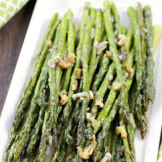 Oven-Roasted Asparagus.