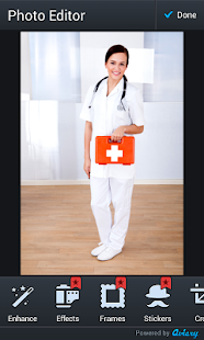 Lékař fotomontáž - náhled