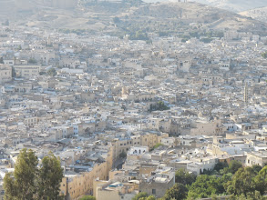 Photo: The medina from a distance.