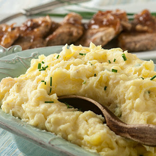 Maple Bacon and Onion Mashed Potatoes