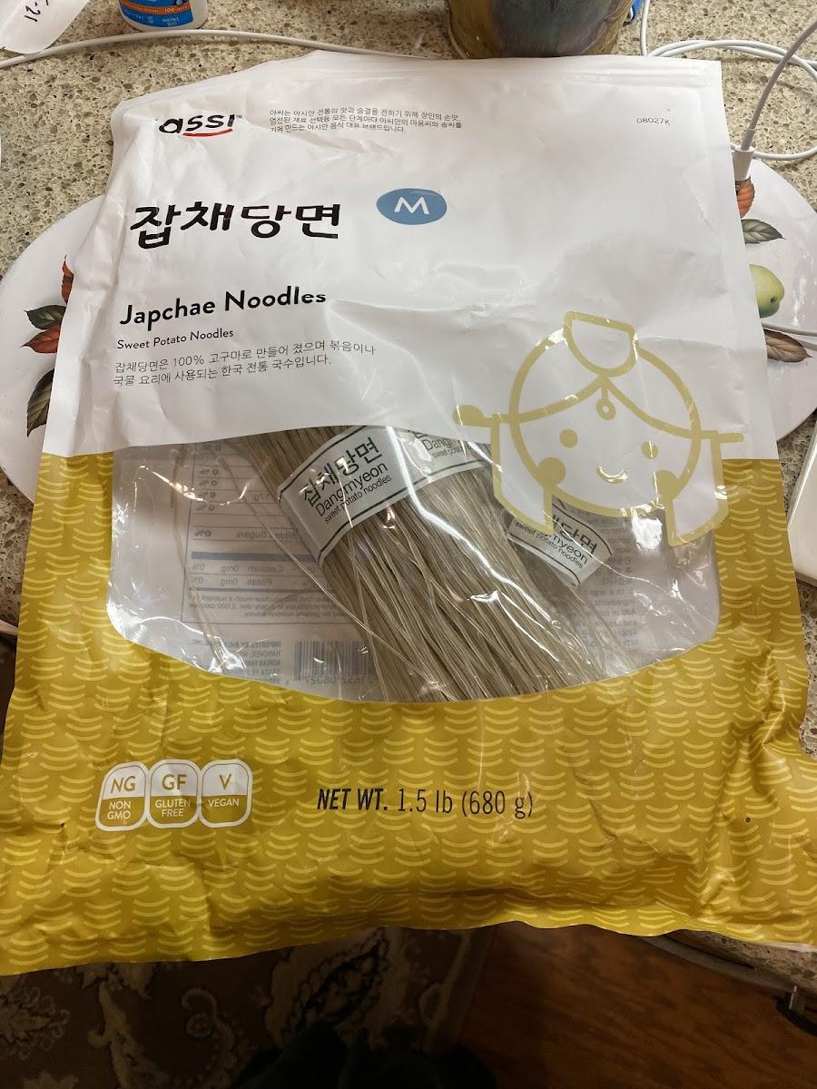 Japchae Noodles / Sweet Potato Noodles