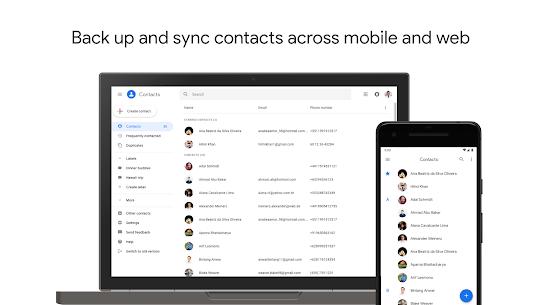 Google Contacts Mod 3.3.3.226019458 Apk [Unlocked] 1
