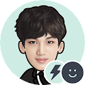 EXO KAI Battery Widget