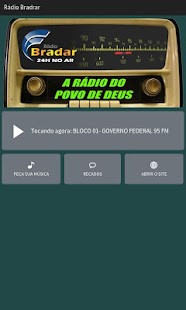 Rádio Bradar- screenshot thumbnail