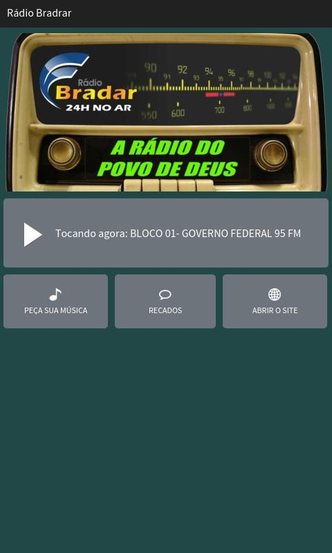 Rádio Bradar- screenshot