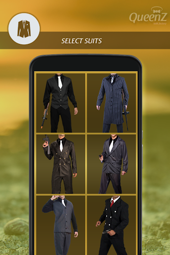 Gangster Fashion Photo Suit