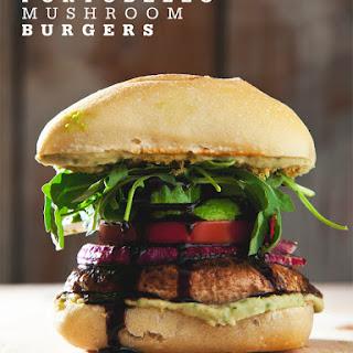 Easy Portobello Mushroom Burgers (Vegan).