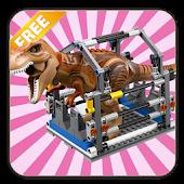 Jurassic Dinosaur Toy Puzzle