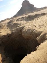 Photo: Looting holes/shaft tomb?