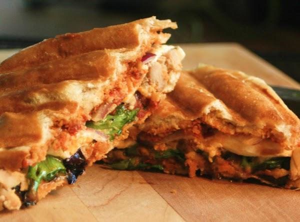 My Own Chicken Tomesto Panini (like Panera's) Recipe