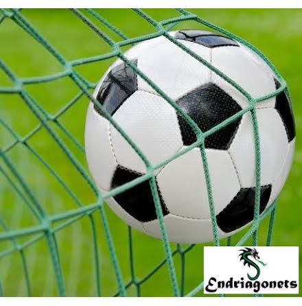 Fotbollsnät 5 m x 2 m, Grön 3 mm, Spanien