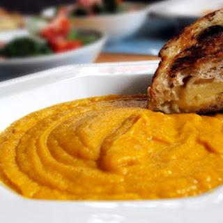 Parsnip, Carrot & Sweet Potato Soup
