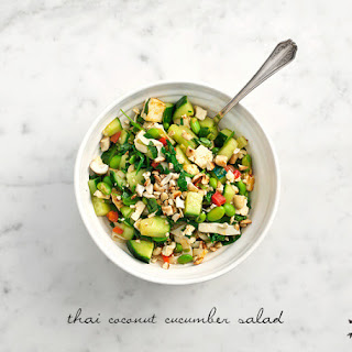Thai Coconut Cucumber Salad