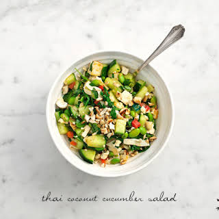 Thai Coconut Cucumber Salad.