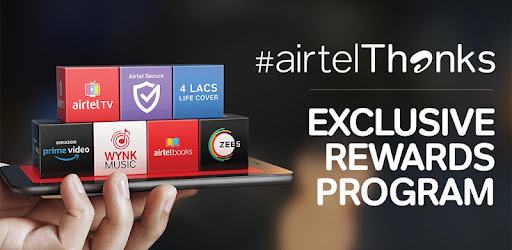 Airtel Thanks - Recharge, Bill Pay, Bank, Live TV - Apps on