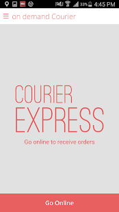 on demand Courier- screenshot thumbnail