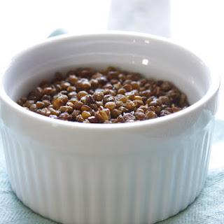 Roasted Garlic Lentils.