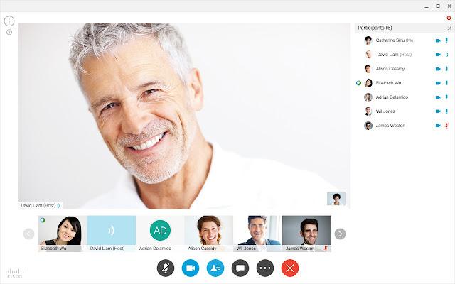 Cisco WebEx App for Chrome