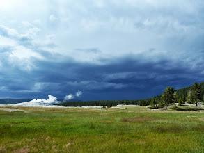 Photo: Here comes the rain again...