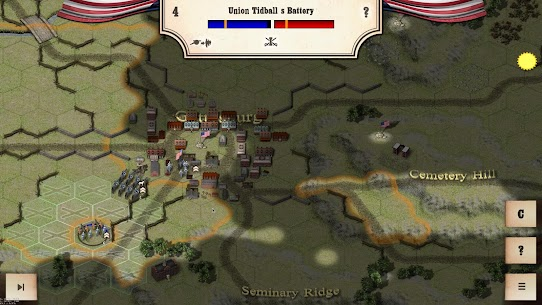 Civil War: Gettysburg Mod Apk Download For ANdroid and Iphone 7