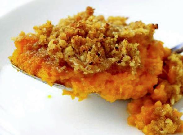 Uncle Greg's Sweet Potato Casserole Recipe