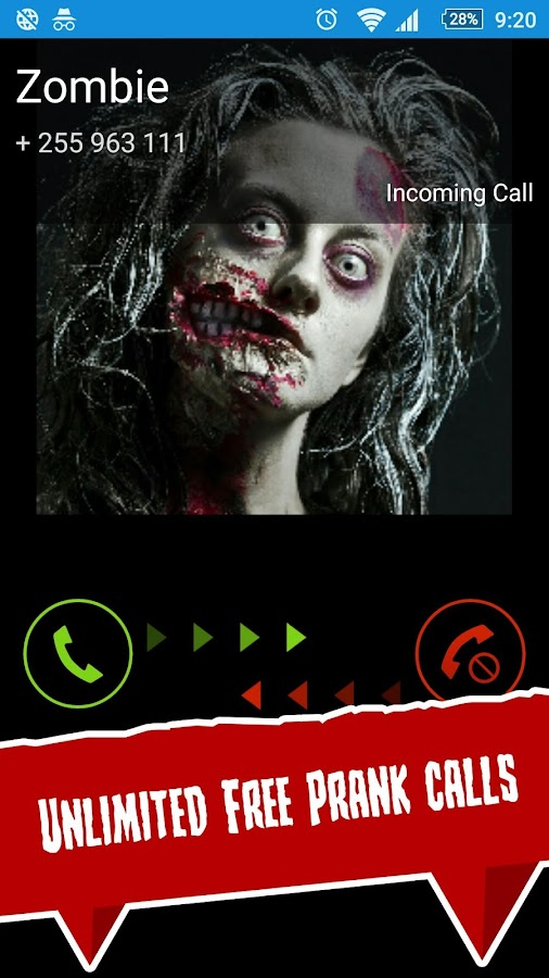 Scary Prank Call- screenshot