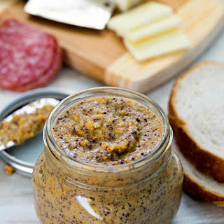Homemade Whole Grain Mustard with.