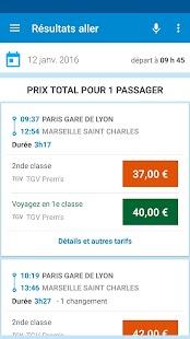 Voyages-SNCF Screenshot 3