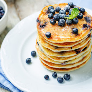 The World's Best Blueberry Pancake.
