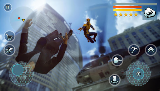 Spider Rope Gangster Hero Vegas - Rope Hero Game apkmr screenshots 7