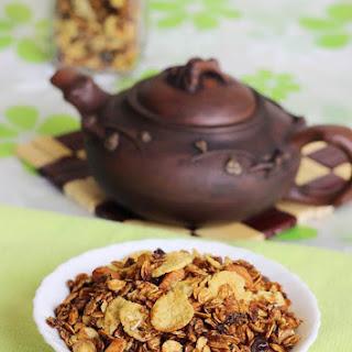 Stovetop Granola Recipe - Easy Granola Recipe Using Jaggery