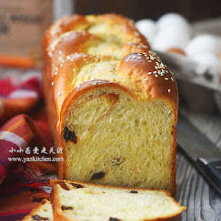 Raisin Brioche Bread