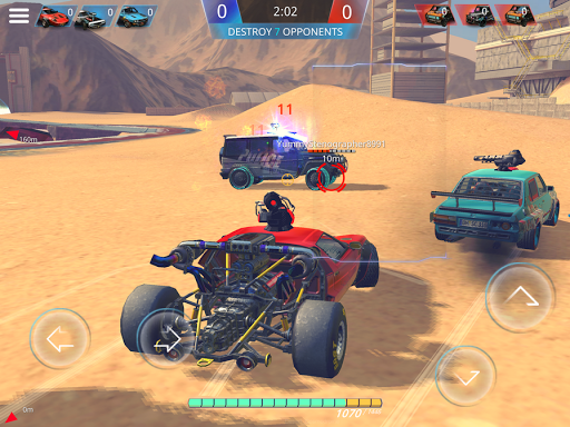 METAL MADNESS PvP: Car Shooter & Twisted Action - screenshot