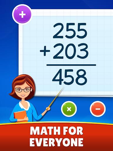 Math Games - Addition, Subtraction, Multiplication 0.0.5 screenshots 9