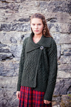 Photo: Aran Single Button Merino Cardigan -  Overlaps to attach with a single button inside and out;Collar is lovely and stylish;Best selling One Button Cardigan -  www.aransweatermarket.com/aran-single-button-merino-cardigan-apple-green