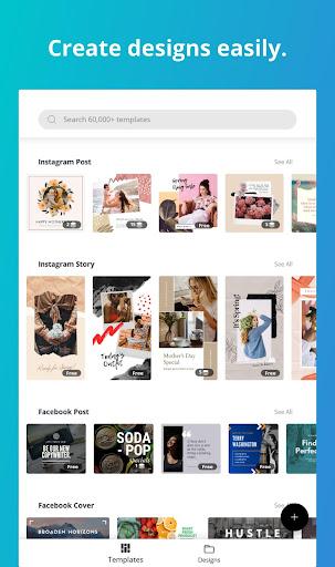 Canva: Graphic Design, Video, Invite & Logo Maker apkmr screenshots 8
