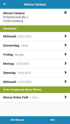Mensa Lüneburg