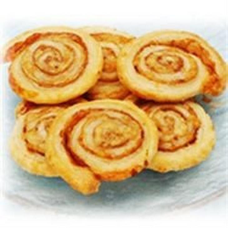Prosciutto and Parmesan Pinwheels Recipe