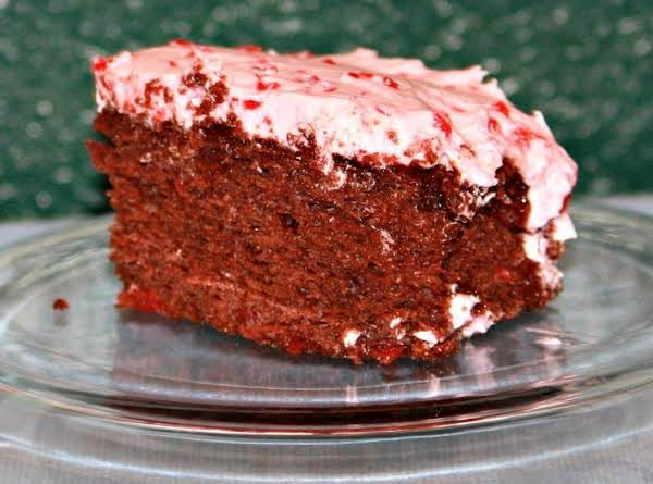 Sinful Chocolate-cherry Cake