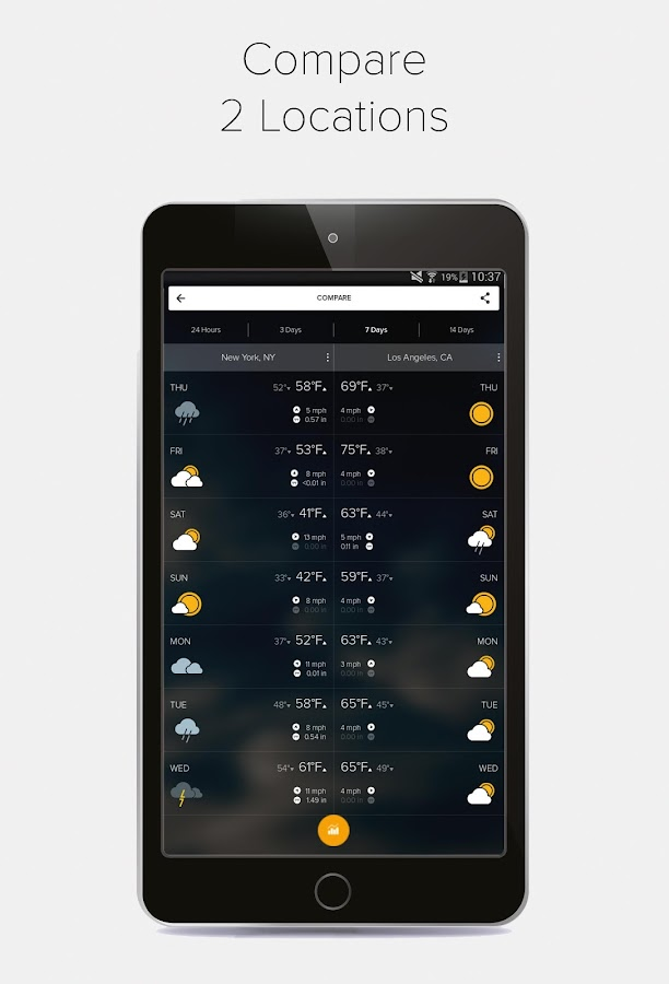 Morecast USA Weather & Radar- screenshot