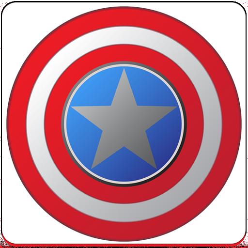 Fidget Spinner - Captain USA