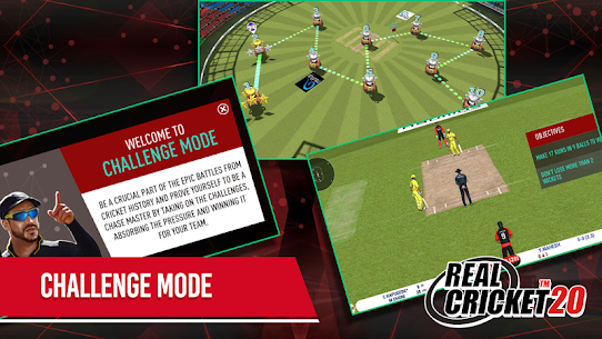 Real Cricket 20 3.6 Apk + Mod (Unlocked) + Data for Android FREE 2